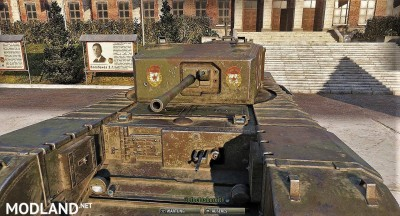 Sgt_Krollnikow51's Skin for the Churchill MK.III LL (Lend Lease) heavy Premium Tank 2.4 [1.3.0.1], 1 photo